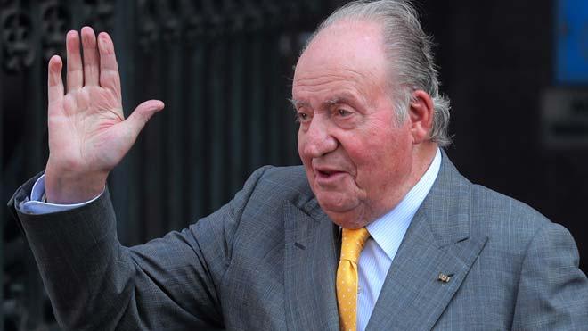 Juan Carlos I, rey emérito, comunica que se va de España. En la foto, Juan Carlos I en una imagen de marzo del 2018.