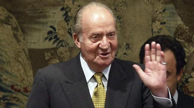 El rey Juan Carlos, el pasado 27 de octubre.