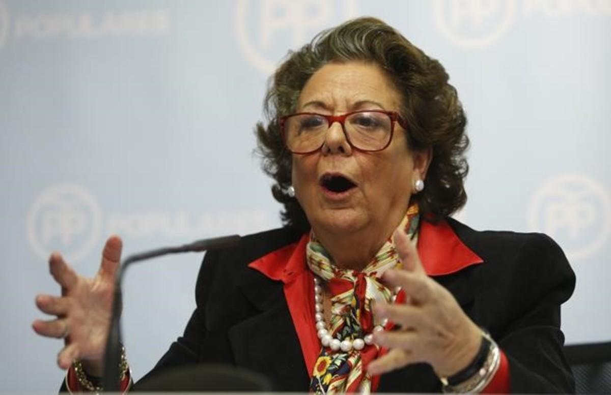 Rita Barberá, del amor al odio