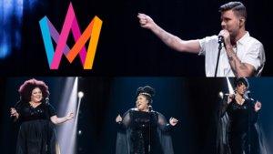 Robin Bengtsson y The Mamas, primeros finalistas del 'Melodifestivalen 2020'.
