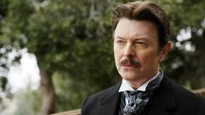 David Bowie, en una escena de El truco final (El prestigio), de Christopher Nolan.