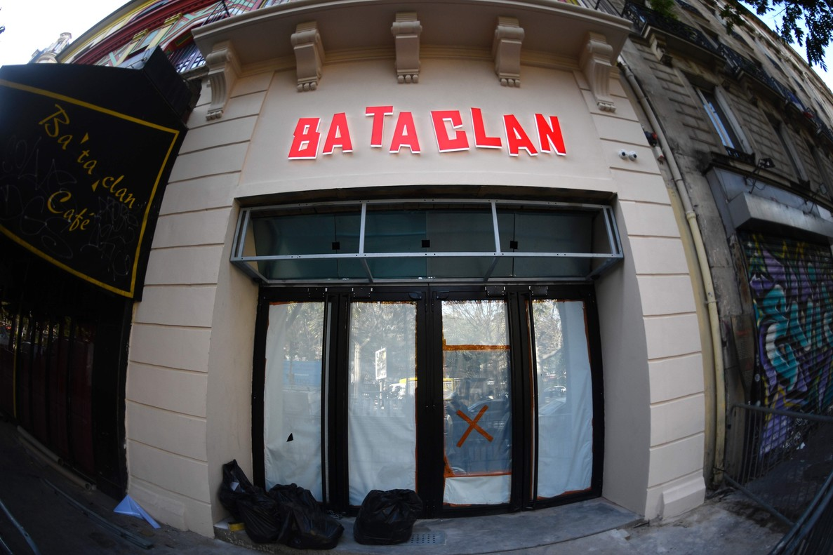La sala Bataclan de París.