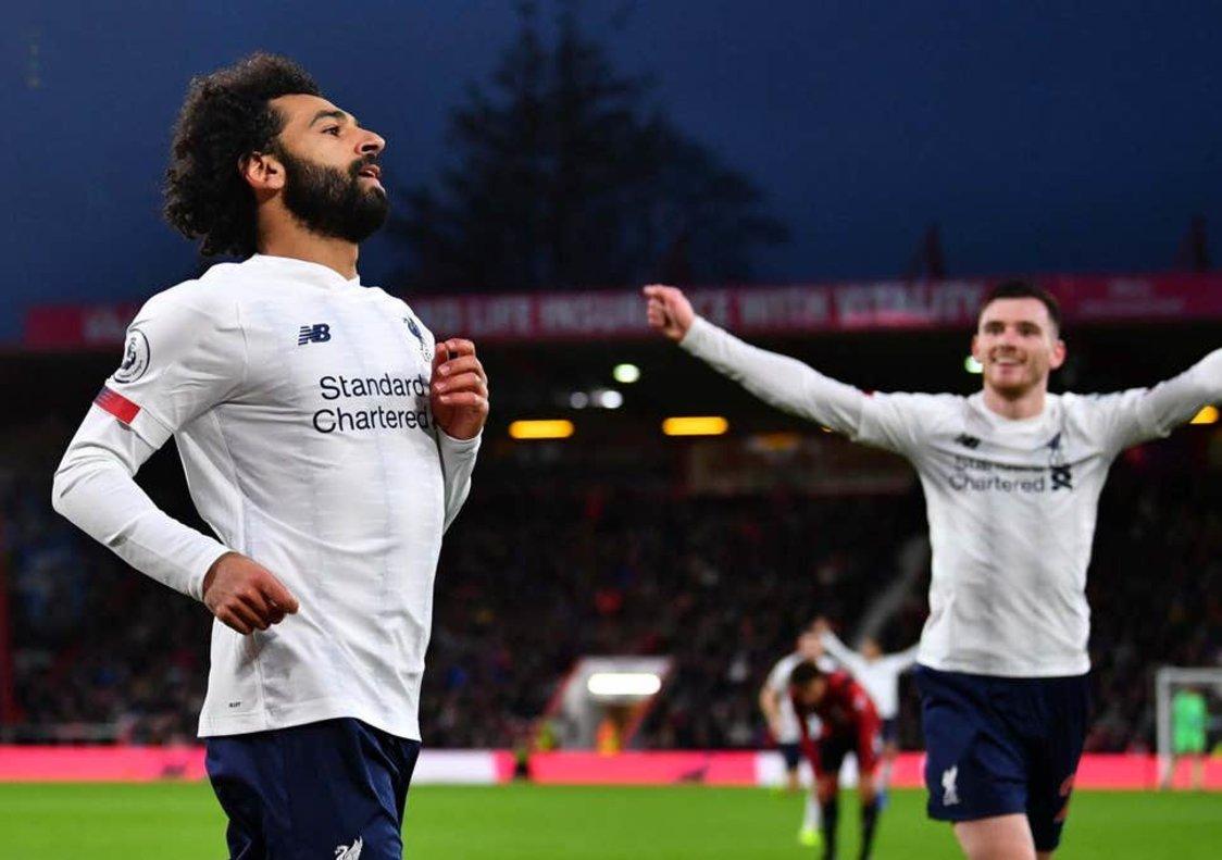 Salah volvió a ser figura en la victoria del Liverpool (The independent)