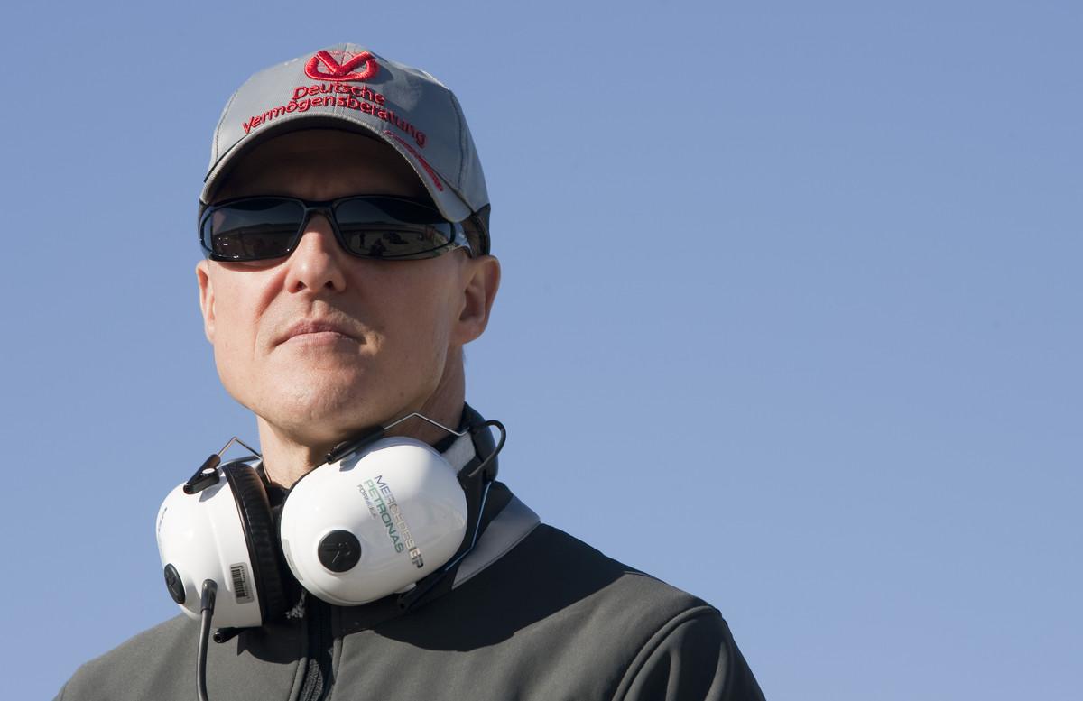Michael Schumacher, en una imagen del 2010.
