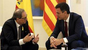 "Torra rebutja la proposta ""autonomista"" de Sánchez"