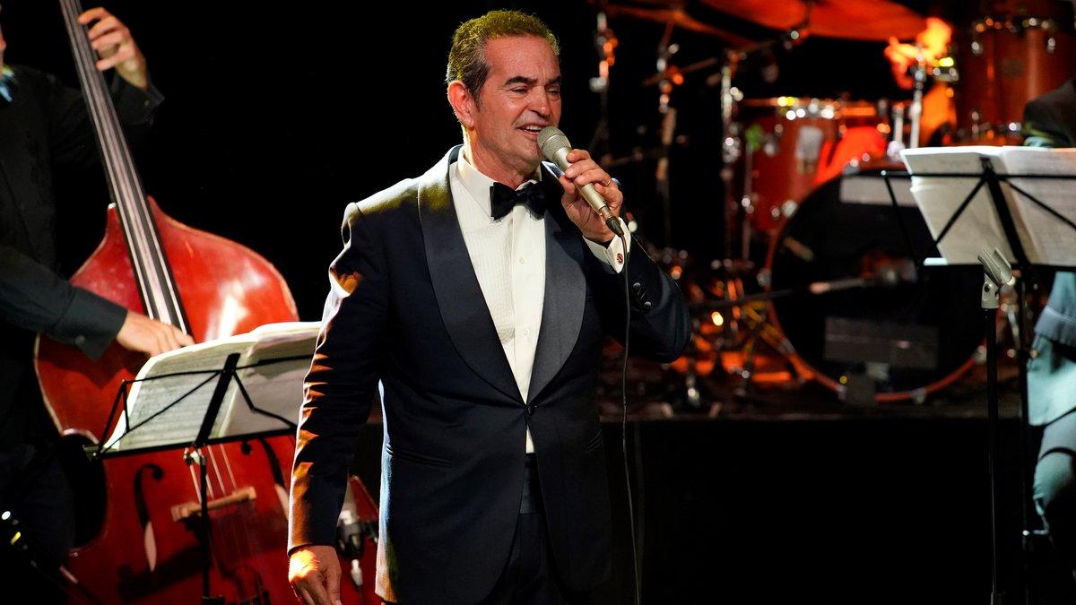 Stefano Palatchi, en el concierto que ofreció el martes en Luz de Gas