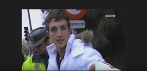 Ares G., más conocido como Pim pam, toma Lacasitos, en el vídeo de Callejeros (Cuatro)que se hizo viral en las redes.
