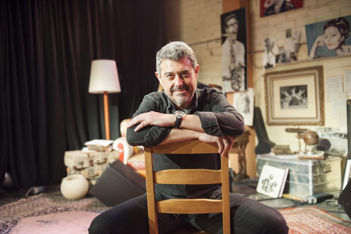 Goyo Prados, director y presentador de 'Músics', de La 2.