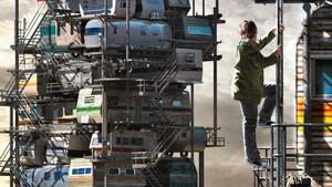 Una imagen promocional de 'Ready player one'