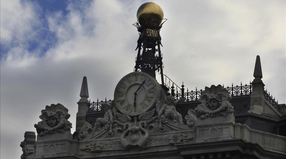 Imagen de la fachada del Banco de España.