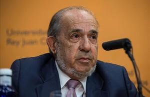 Enrique Alvarez Conde, exdirector del máster de Cristina Cifuentes.