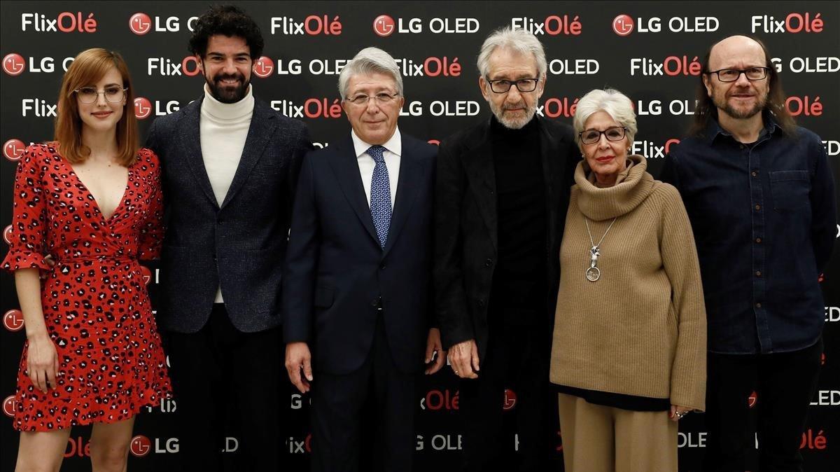 Enrique Cerezo presenta FlixOlé, una plataforma amb la memòria del cine espanyol