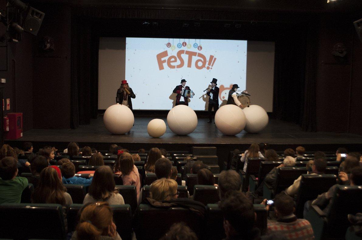 Imagen de una sesión de 'Un dia de festa!' en Argentona.