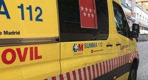 Unidad móvil del SUMMA 112.