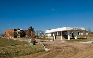 Un centro militar en Uruguay.