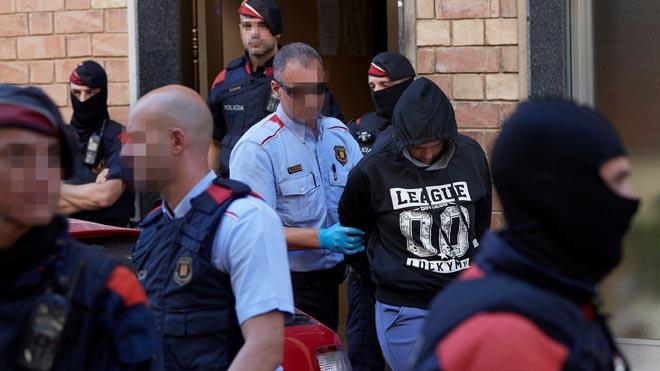 Operació policial a Barcelona contra una banda juvenil de delinqüents