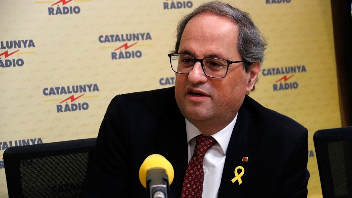 Torra ofereix a Sánchez continuar negociant els Pressupostos