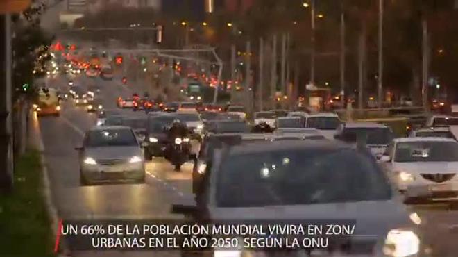 Vídeo de la aplicación (APP) Parkfinder de Seat en Barcelona.