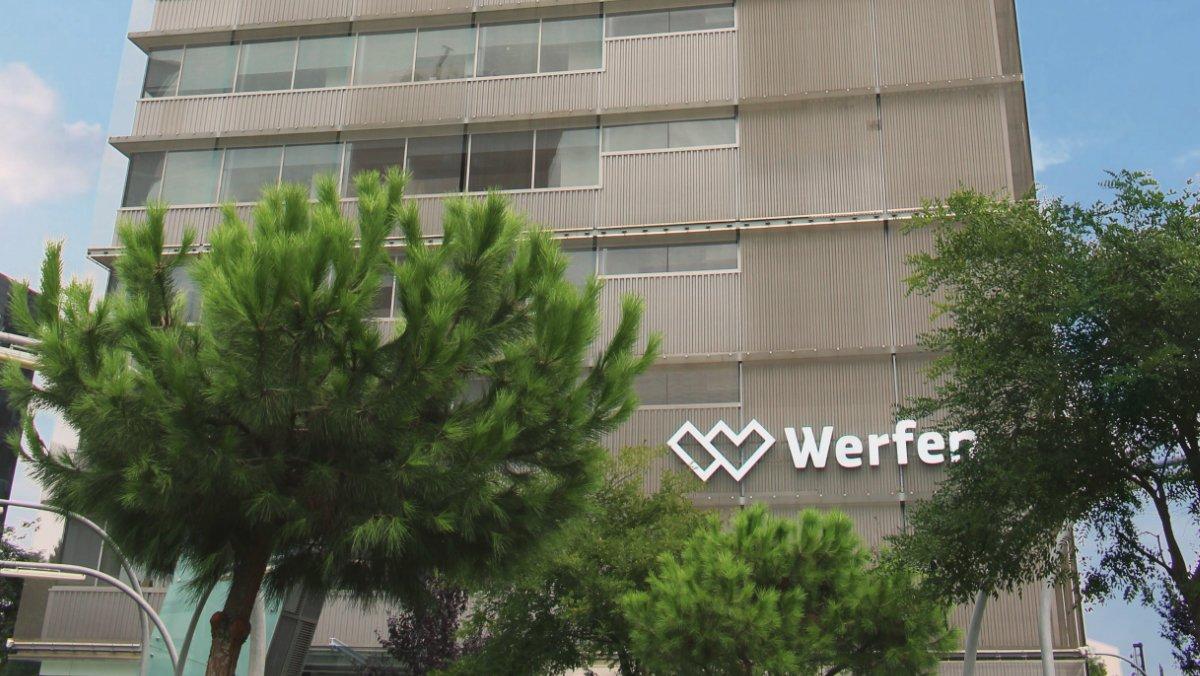 Imagen de la sede central de Werfen.
