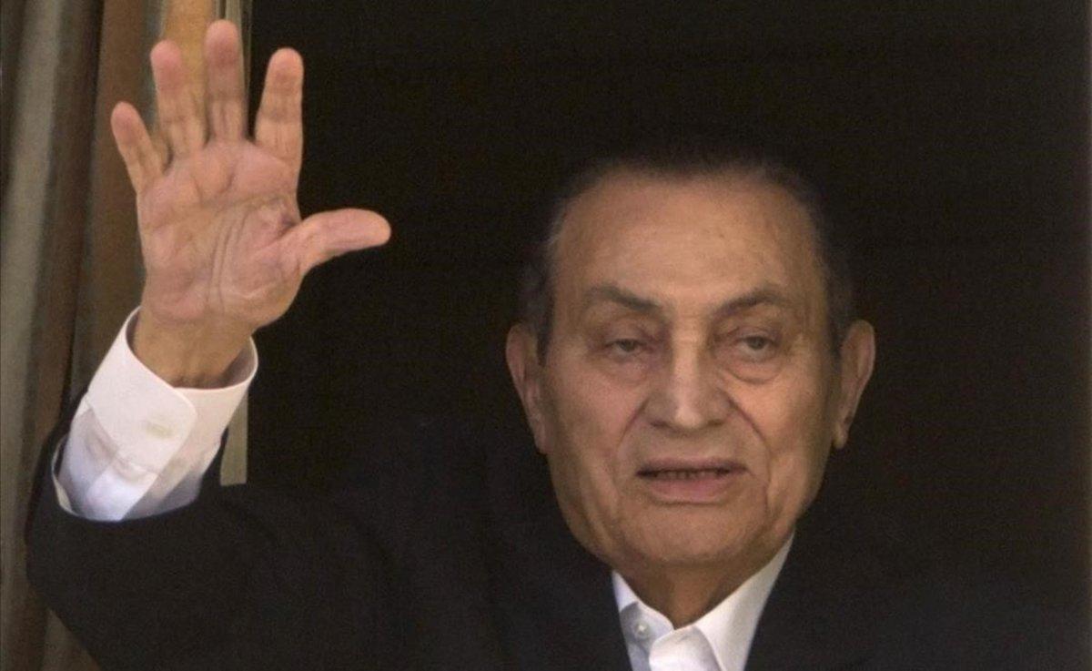 Mor l'expresident d'Egipte Hosni Mubarak