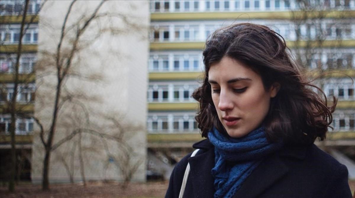Elena Martín, en un fotograma de la película 'Julia Ist'.