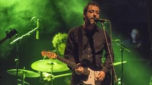 Jaume Pla, Mazoni, durante el concierto con el Istanbul Street Ensemble.