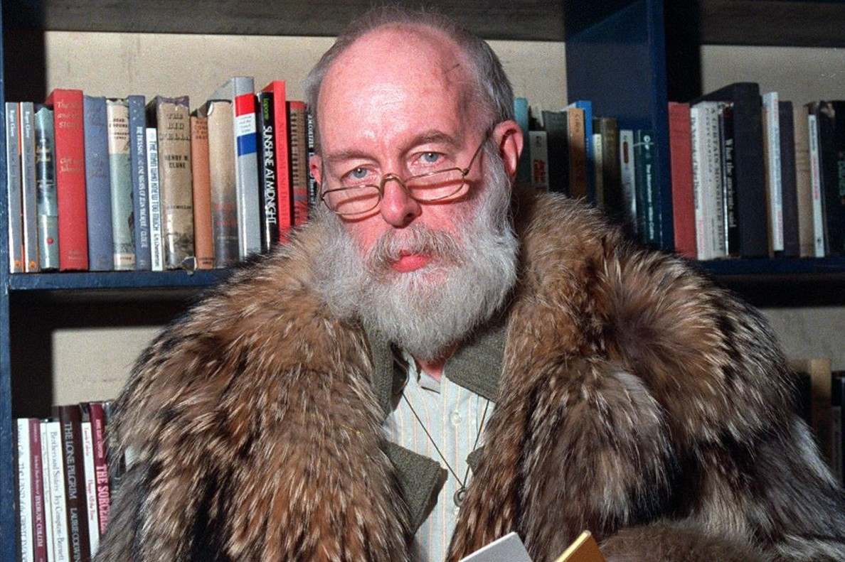 El ilustrador y escritor Edward Gorey.