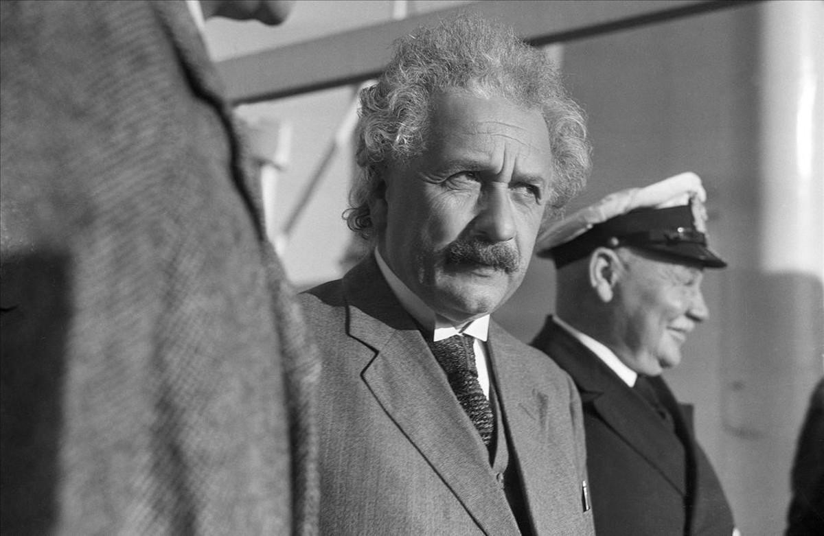 Albert Einstein, uno de los zurdos más importantes de la historia.