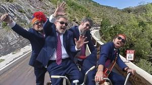 Los Toreros Muertos. Pablo Carbonell es el segundo por la izquierda.