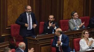 El nuevo primer ministro armenio, Nikol Pashinyan.