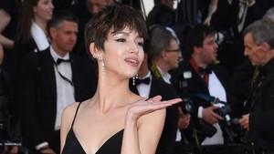Úrsula Corberó, en la apertura del festival de Cannes, el pasado 8 de mayo.