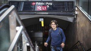 Antoni Ferrando: «Ahorro 890 euros en transporte público»