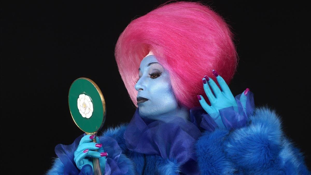 La soprano Elena Copons en 'Je suis narcissiste'.