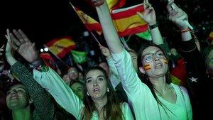Vox obté 24 'croats', menys dels previstos per iniciar la reconquesta
