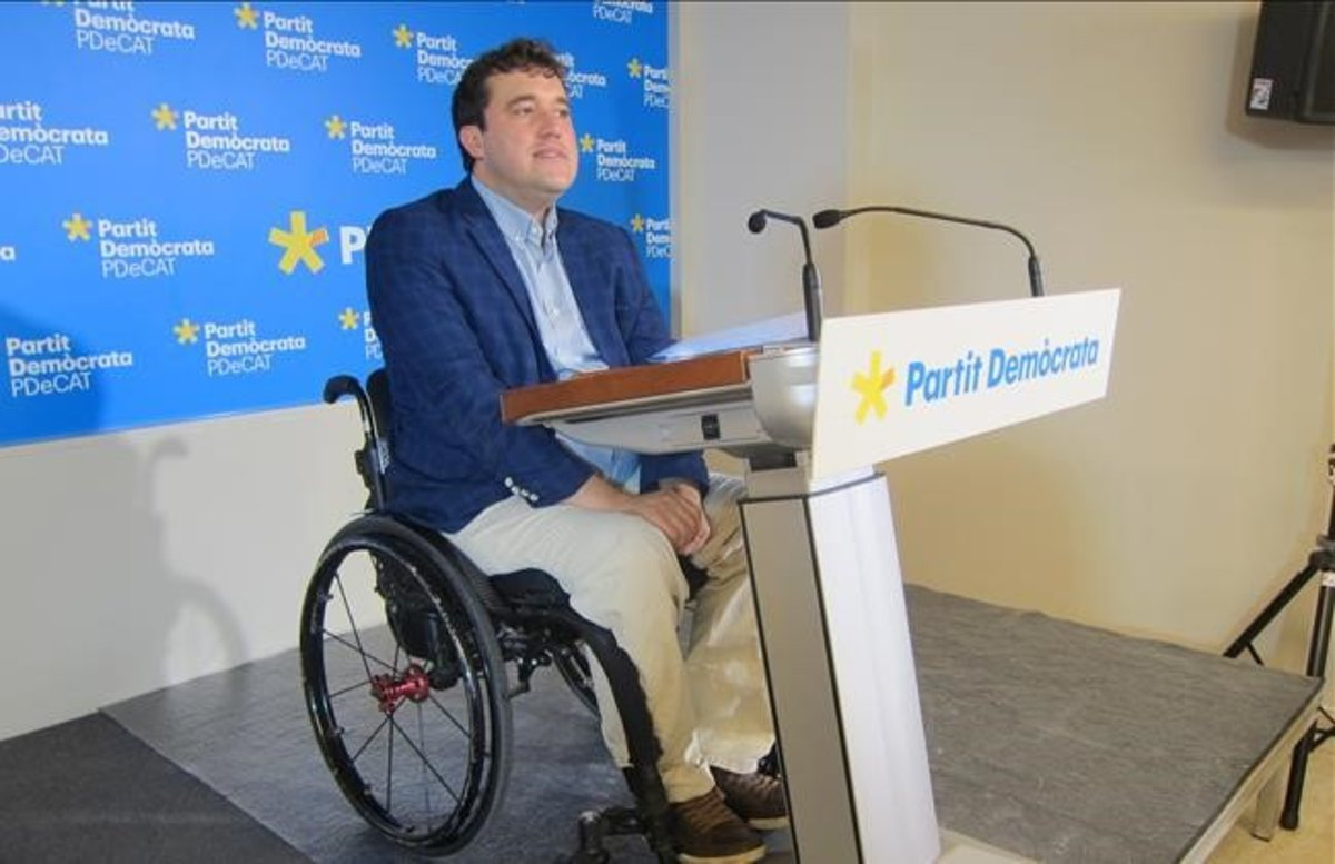 El presidente del PDECat, David Bonvehí.