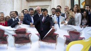 Itàlia aprova la llei per reduir el nombre de parlamentaris