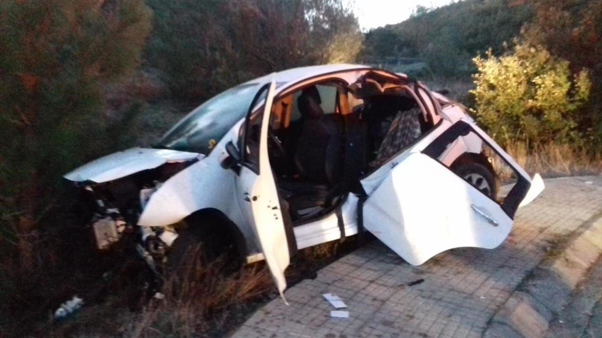 Detingut un menor que conduïa begut per provocar un accident a Darnius
