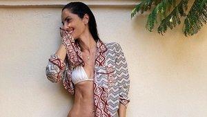 La modelo Eugenia Silva.