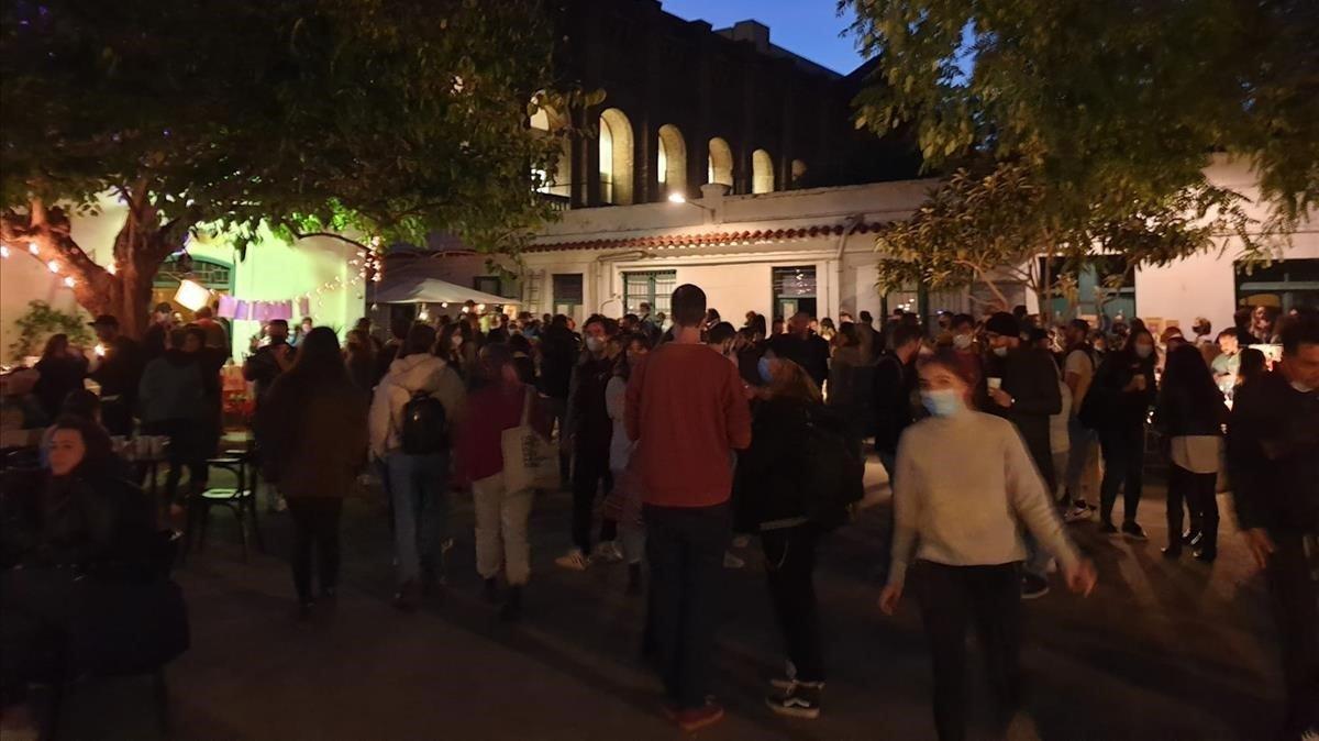 La Guàrdia Urbana dissol una celebració en una parròquia de Barcelona