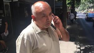 Pato Quiroz, profesor que fue expulsado del Instituto Alonso Ercilla de los Maristas de Chile por enfrentarse con un hermano que abusaba de un menor.