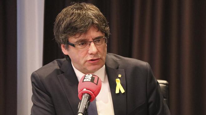 Puigdemont: Vull tornar a ser president