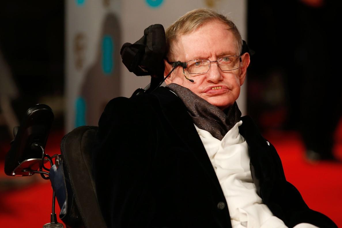 Stephen Hawking, durante un acto en Londres, en febrero del 2015.