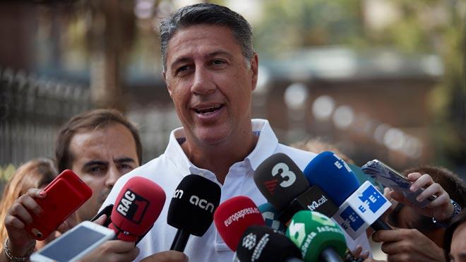 """Albiol acusa Torra de """"violència verbal i psicològica"""" cap als no independentistes"""