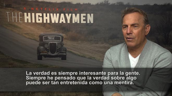 Kevin Costner tomba el mite de Bonnie i Clyde a 'Emboscada final'
