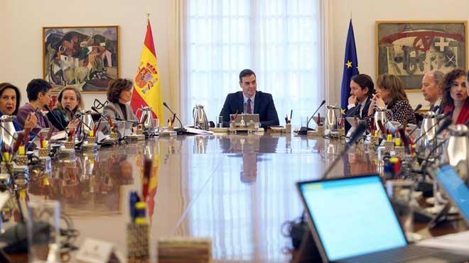 Els Consells de Ministres se celebraran a partir d'ara els dimarts