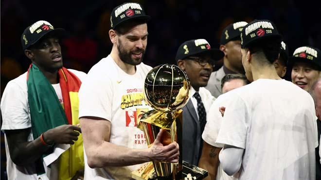 Els Toronto Raptors de Marc Gasol guanyen el seu primer títol de l'NBA