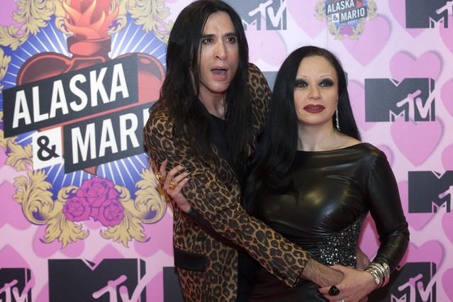 Alaska y Mario Vaquerizo.