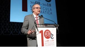 Alfonso Lluzar, presidente del Col·legi de Gestors Administratius de Catalunya.