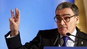 Àngel Ros, alcalde de Lleida y presidente del PSC.