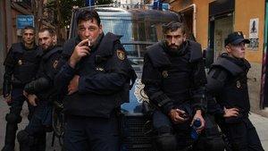 Els policies parlen sobre la sèrie 'Antidisturbios': «Si li agrada a Rufián, posa't en el pitjor»